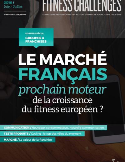 Fitness challenges juin 2016